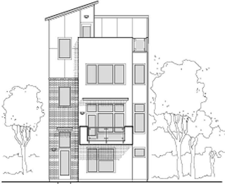 Townhouse Plan E2225