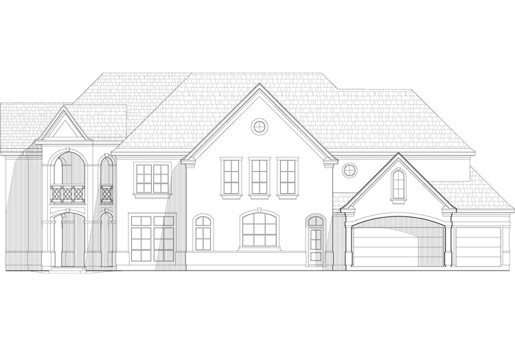 Two Story House Plan C5293