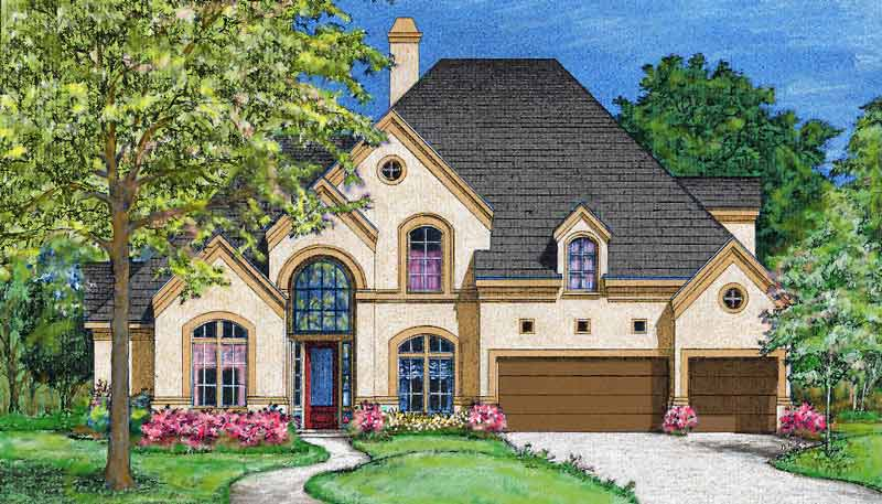 Two Story Home Plan bC7232