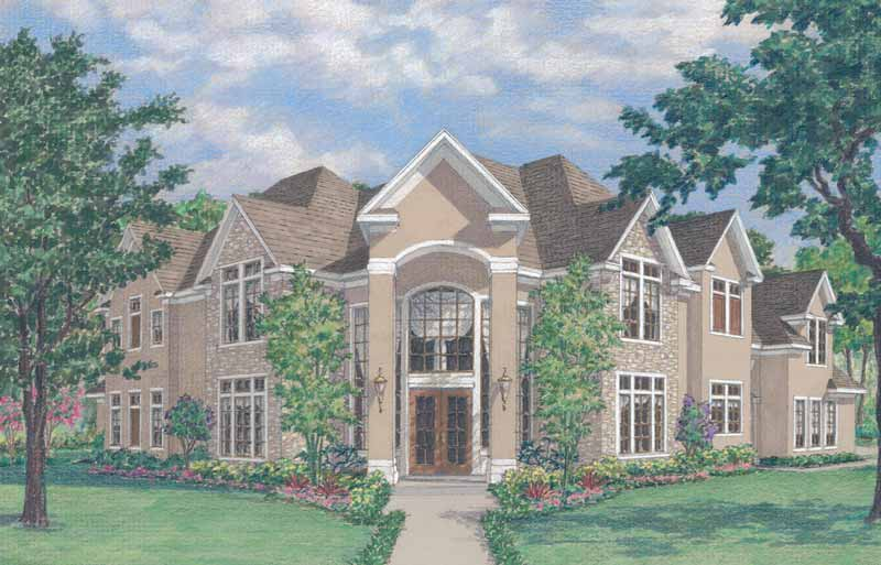 Two Story Home Plan D5118