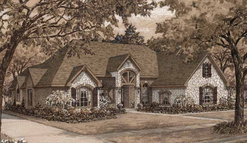 Two Story Home Plan D5006