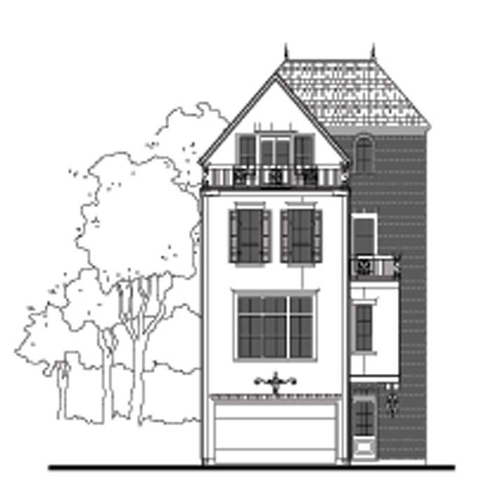 Townhouse Plan D9095 F LOT-3