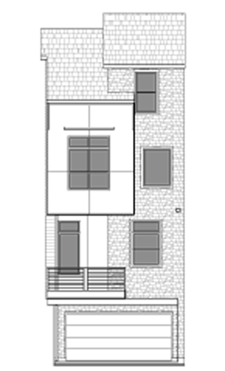 Duplex Townhouse Plan E2223