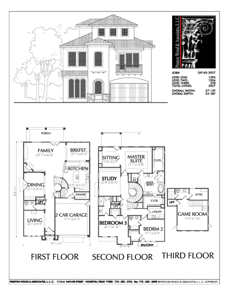 Urban Home Plan D9169