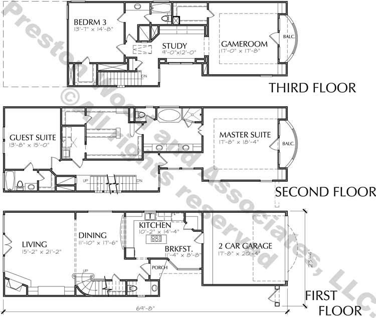 Townhouse Plan D0226