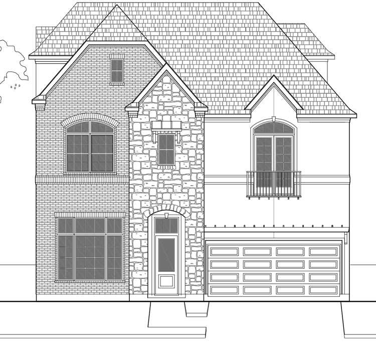 Urban House Plan E2235 C1.2