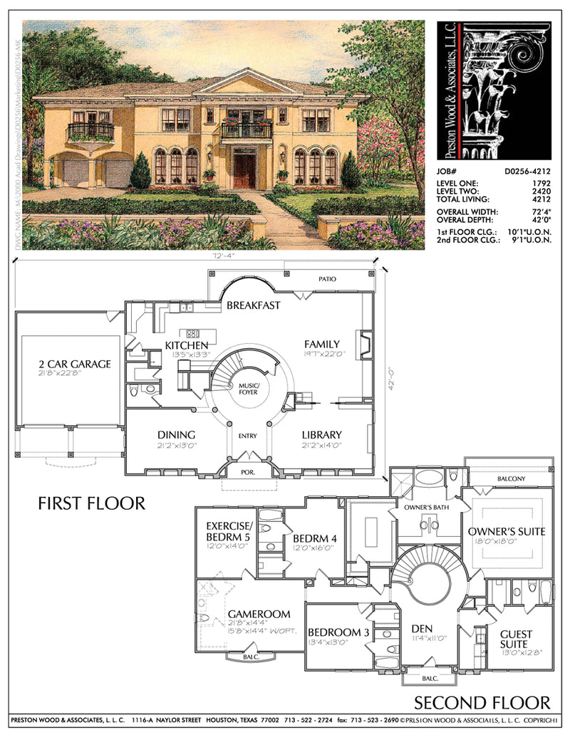 Eclectic Style Home Plan aD0256