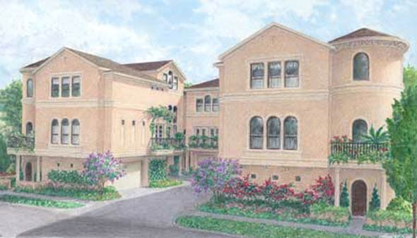Townhouse Plan D3016 u1