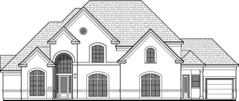Two Story House Plan D2058