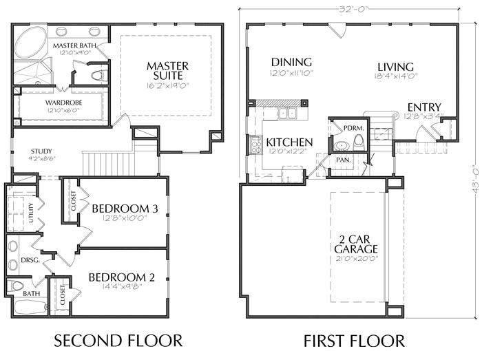 Creative Floor Plans New Residential House Plan Single Family Homes Preston Wood Associates
