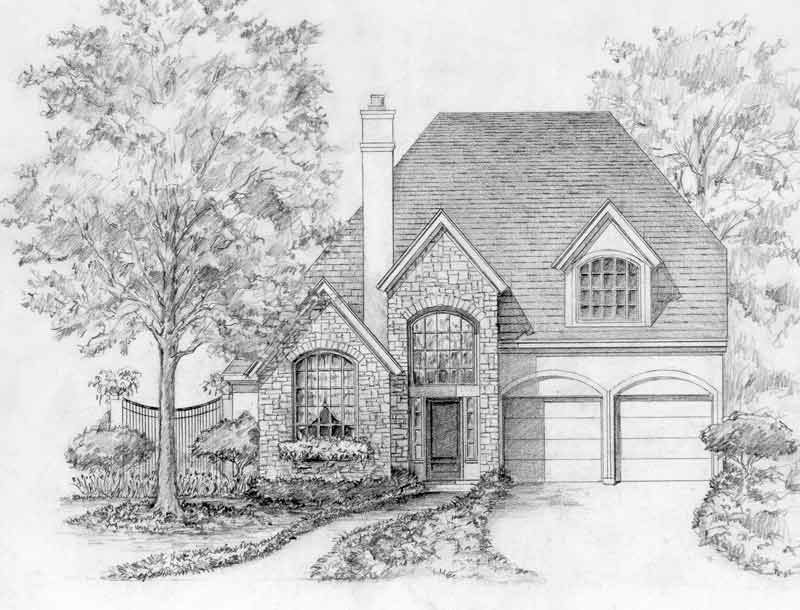 Country Style House Plan C5287 C