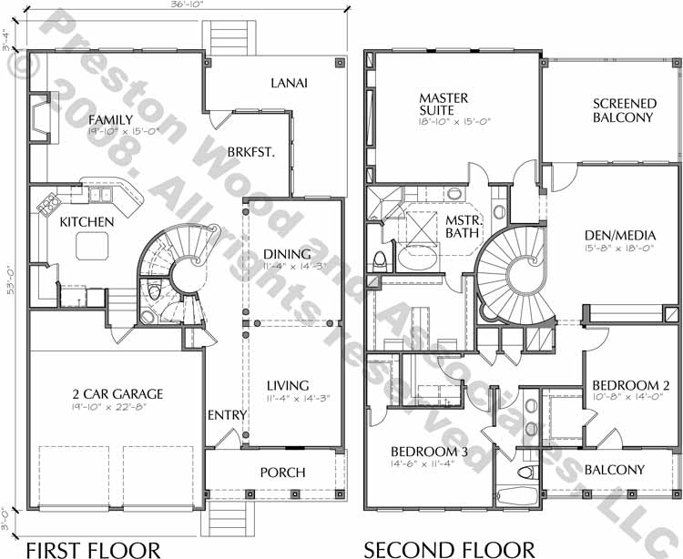 Patio Home Plan C8038
