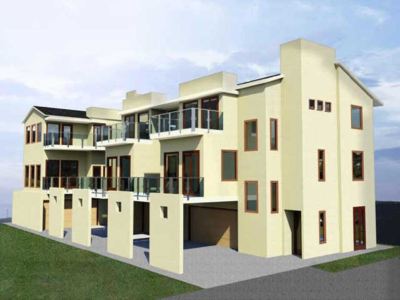 Townhouse Plan D6173 u3