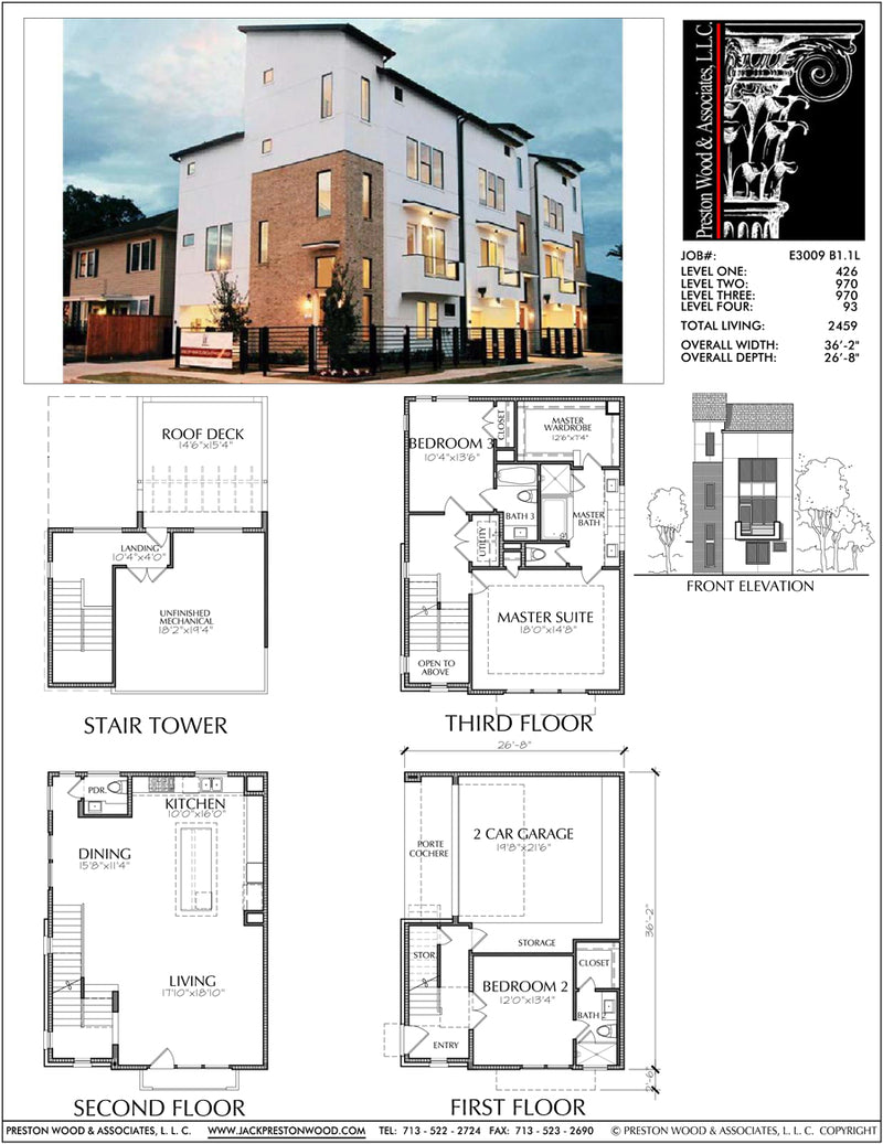 Townhouse Plan E3009 B1.1