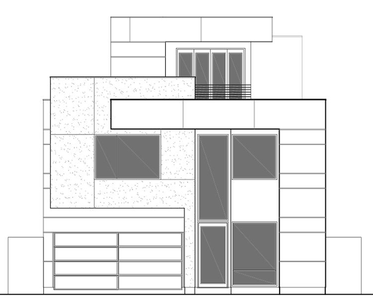 Urban House Plan E2199