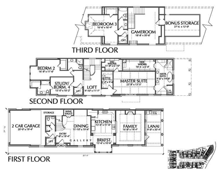 Townhouse Plan D9095 B LOT-16
