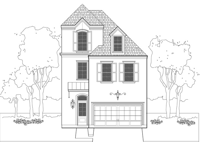 Townhouse Plan E1036 A2.4