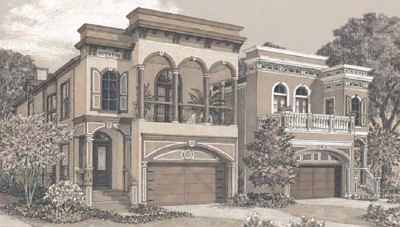 Townhouse Plan D4141