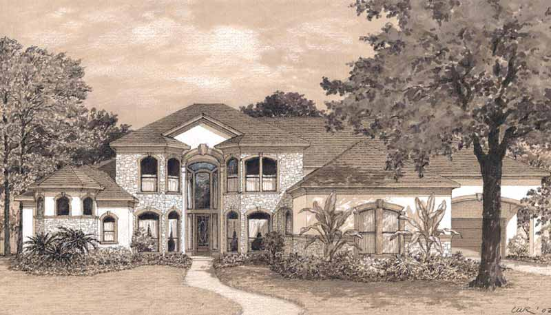 Two Story Home Plan D2116