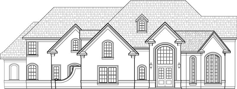 Two Story House Plan D0329