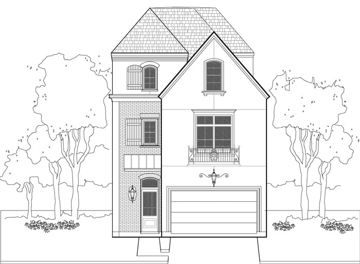 Townhouse Plan E0108 A3.4