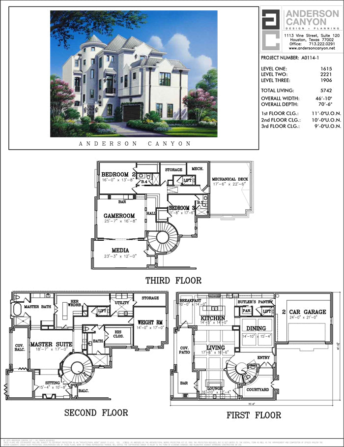Urban House Plan A0114