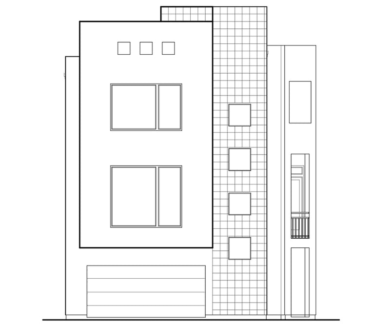 Townhouse Plan D3144-2010