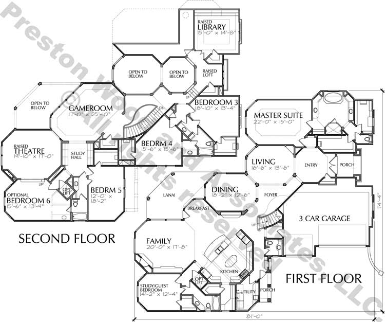 Two Story Home Plan D3079