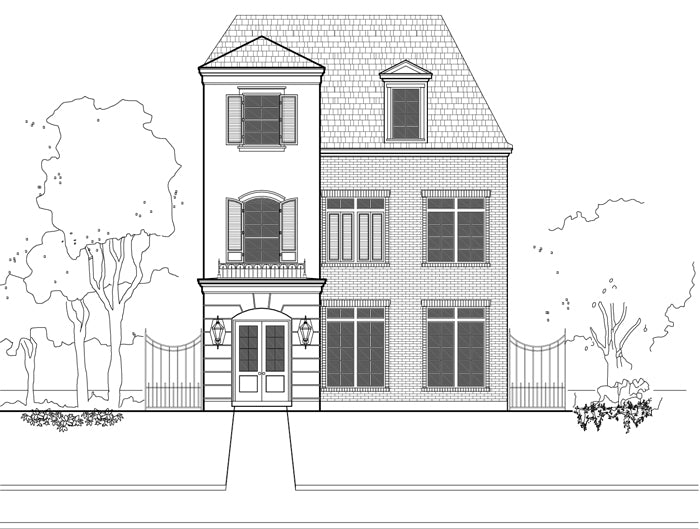 Townhouse Plan E1155 B1.1
