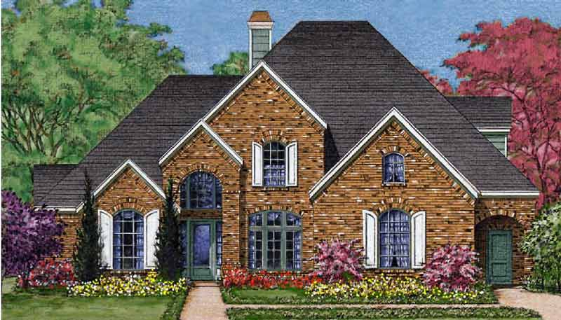 Traditional Style Home Plan C8048
