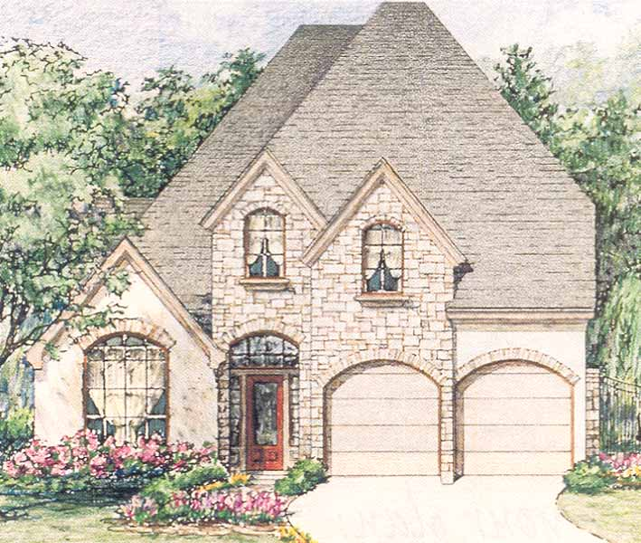 Patio Home Plan C5182