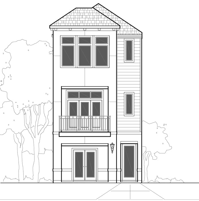 Townhouse Plan E0170 A1.2