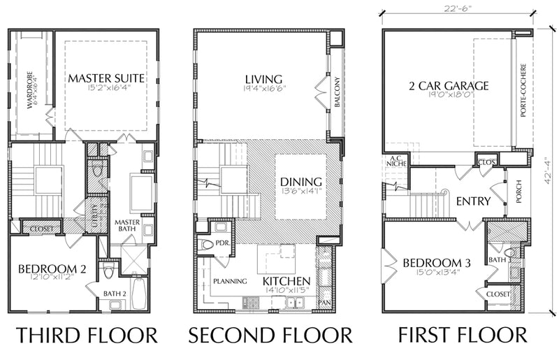 Townhouse Plan E5129 B1.1