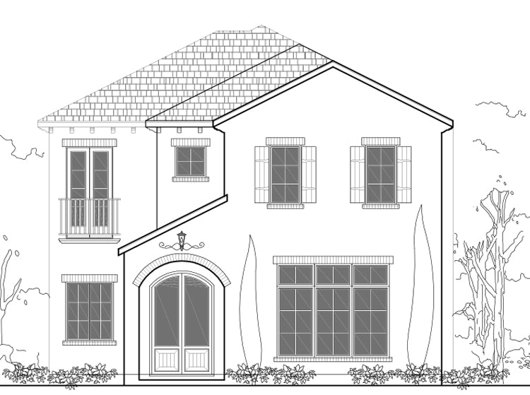 Two Story House Plan E2190