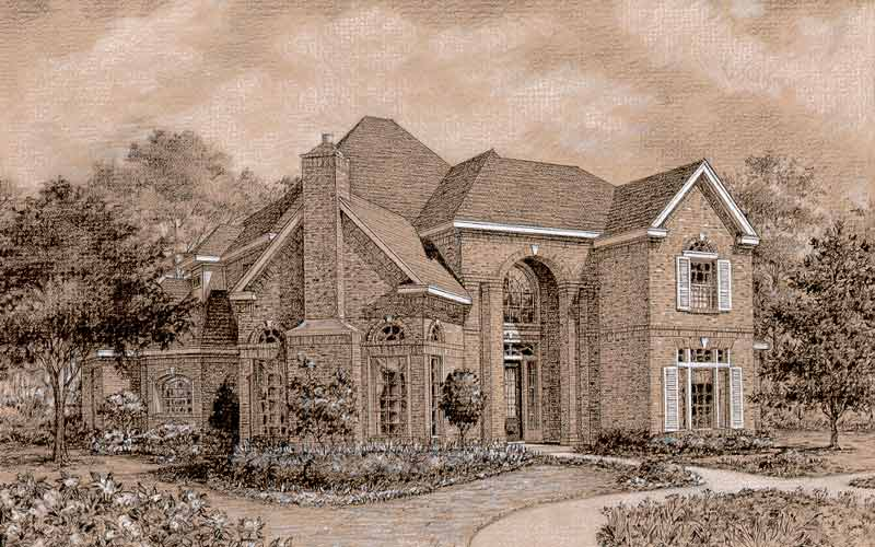 Two Story House Plan D0029