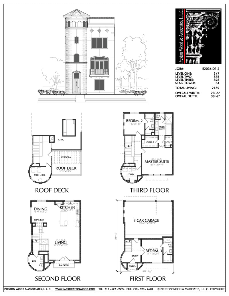 Townhouse Plan E2036 D1.2