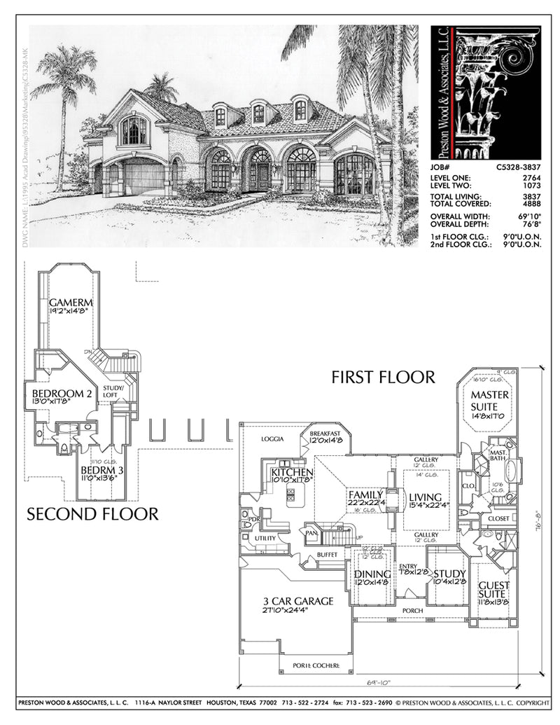 Two Story House Plan aC5328