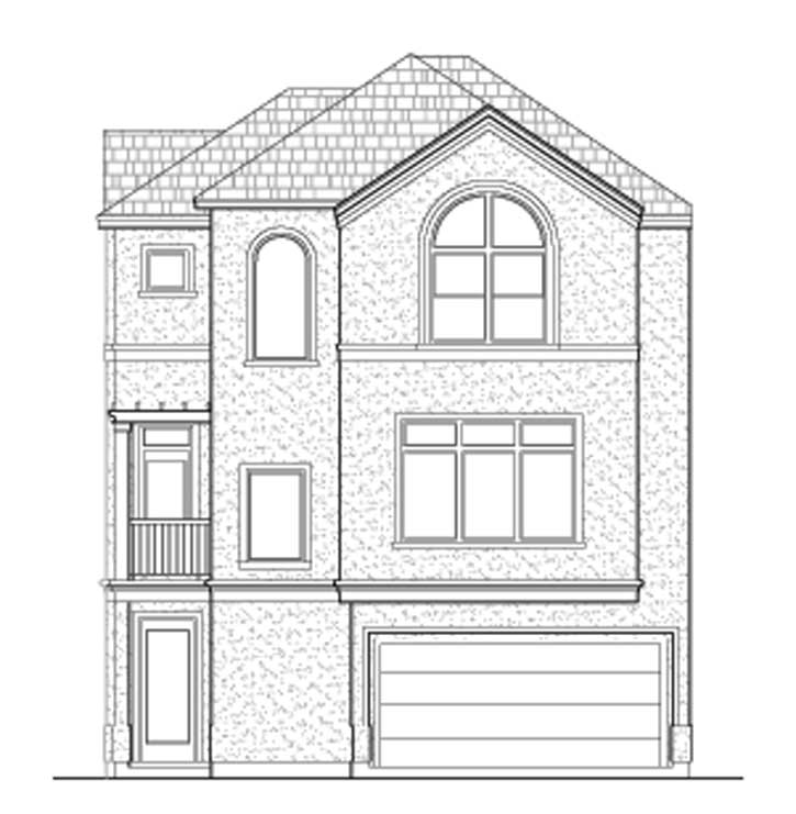 Townhouse Plan D7012-2042-1-2