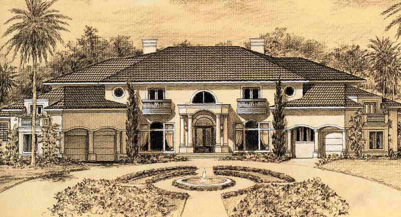 Two Story Home Plan C5334