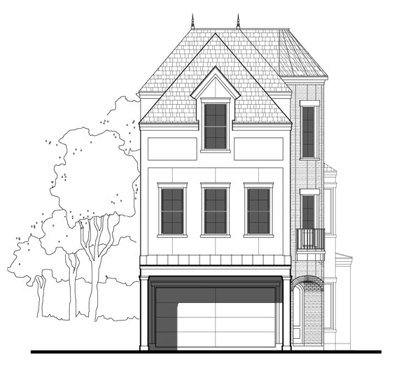 Townhouse Plan E1028 C