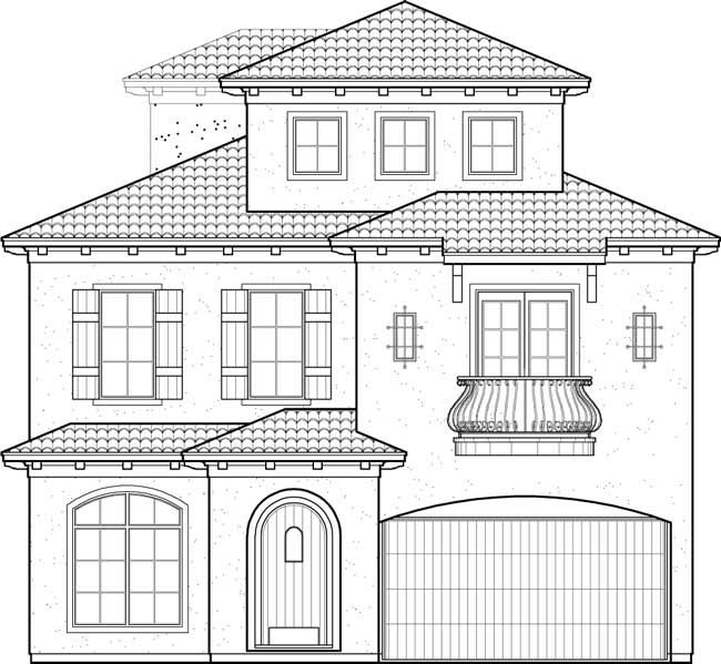 Two Story House Building Plans, New Home Floor Plan