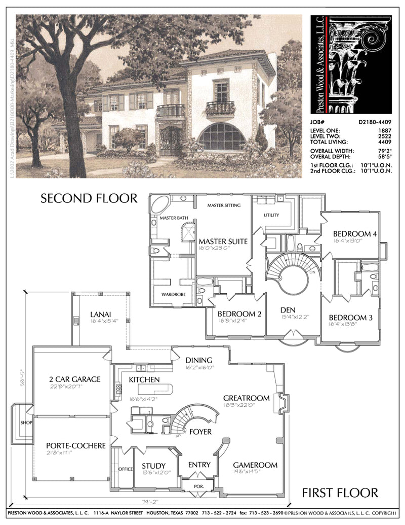 Urban House Plan D2180
