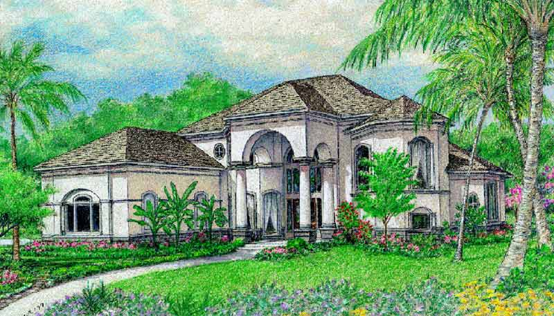 Two Story Home Plan aC6285
