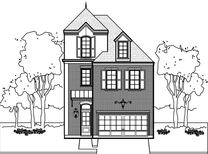Townhouse Plan E0108 A1.3