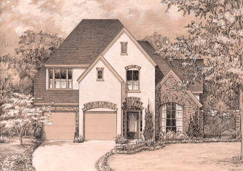 Country Style Home Plan C5230 A