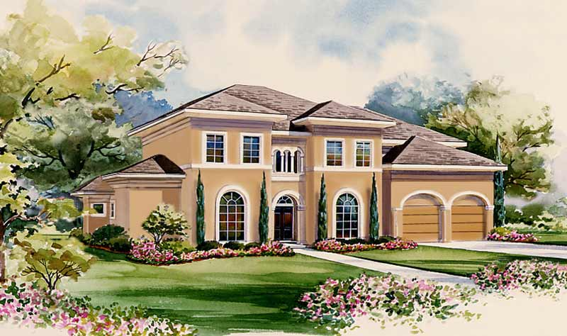 Two Story Home Plan D0289