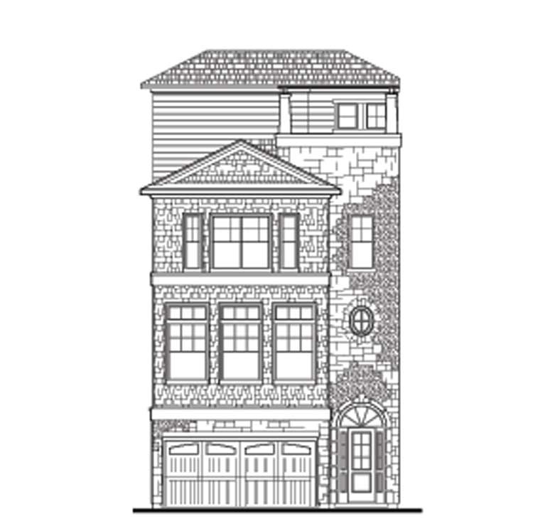 Townhouse Plan D7028 B