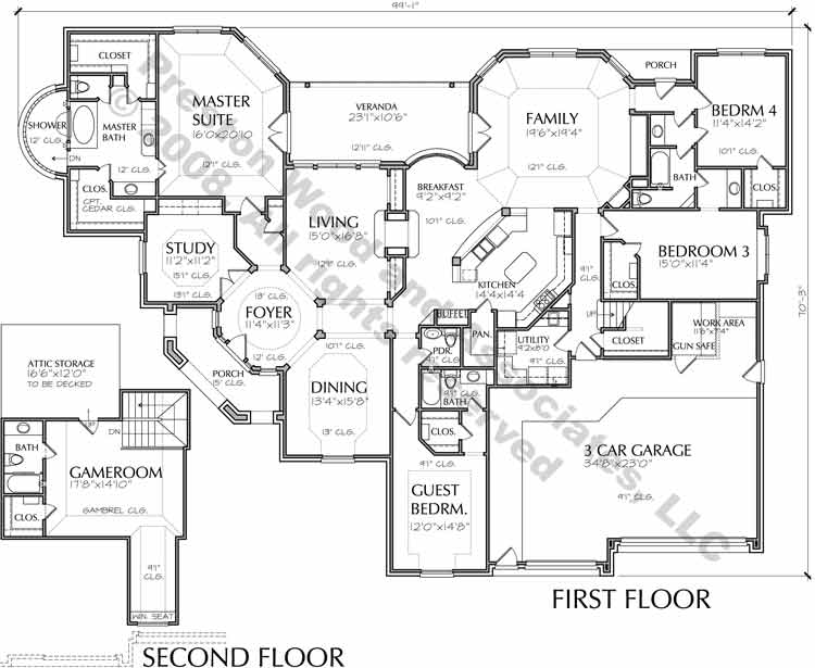Country Style Home Plan D0033