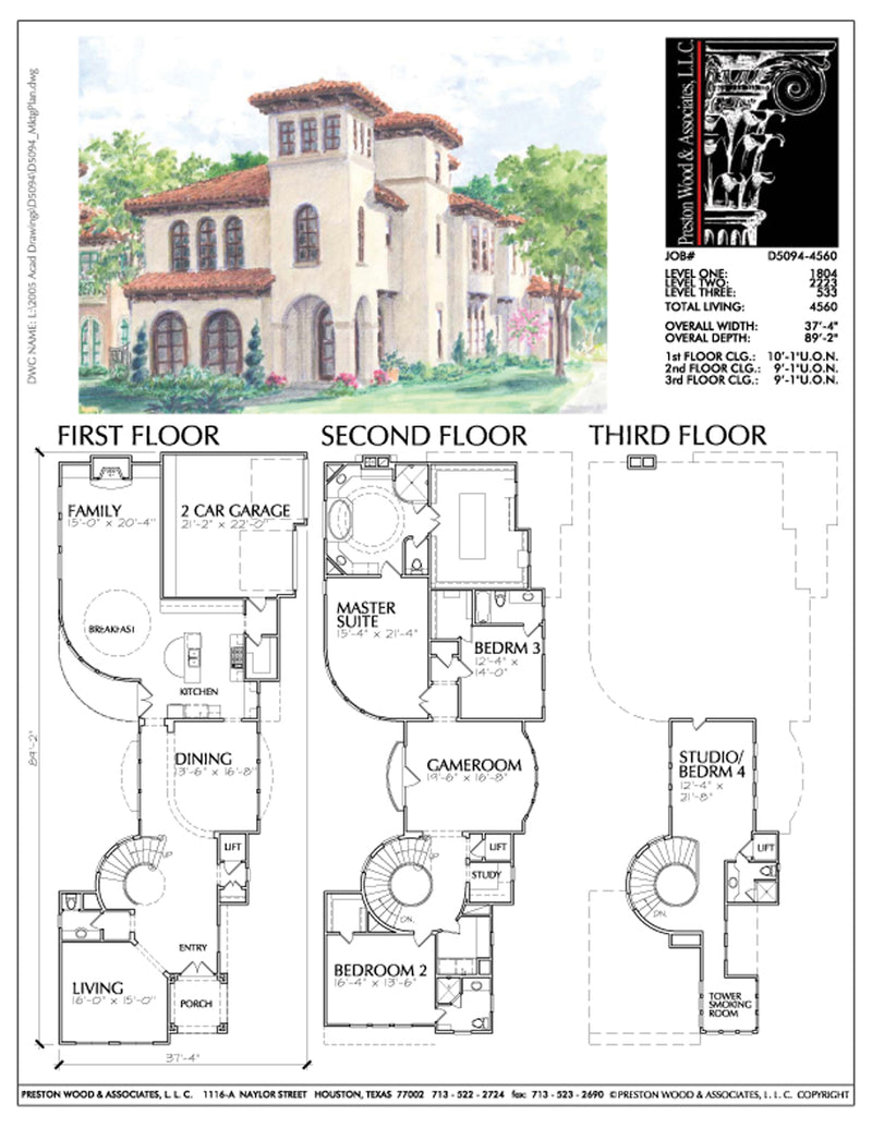 Urban House Plan D5094