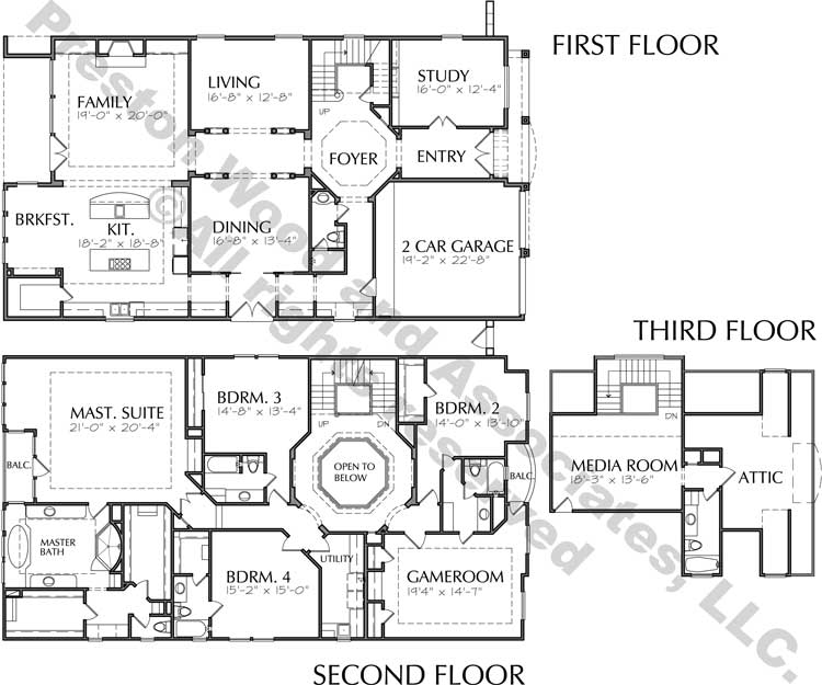 Classical Home Plan D0024